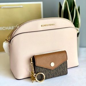 Michael Kors Dome Crossbody and Small Card Case